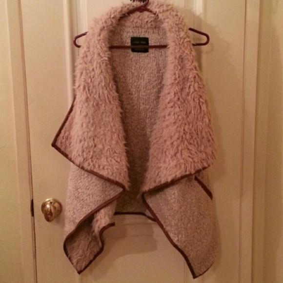 Love Tree Jackets & Blazers - Faux fur vest